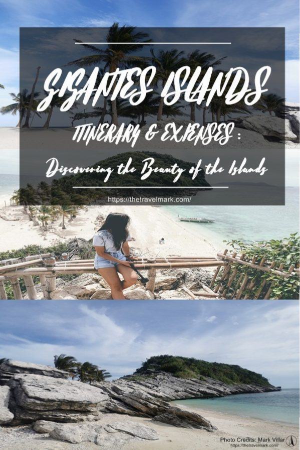 GIGANTES ISLANDS ITINERARY EXPENSES - The Travel Mark