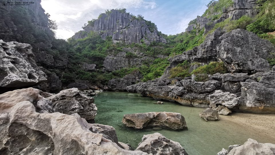 Tangke Lagoon - Gigantes Island Travel Guide Itinerary Expenses