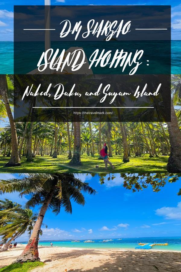 DIY SIARGAO ISLAND HOPPING - Naked Daku and Guyam Island